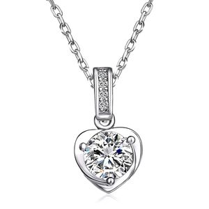 ♠️+ Swarovski® Diamonds Crystal Heart Necklace